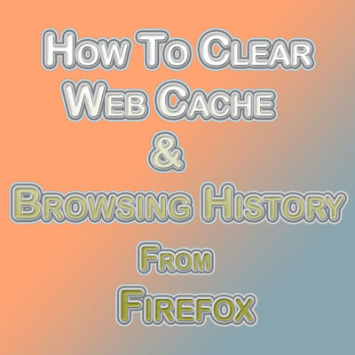 how to clear browser history firefox in bat