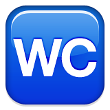 WC WhatsApp的符號